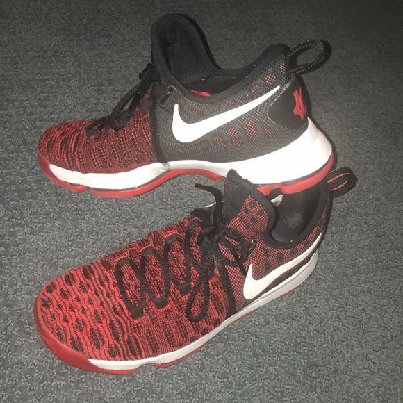 Nike Shoes | Kd 9 Red And Black | Poshmark